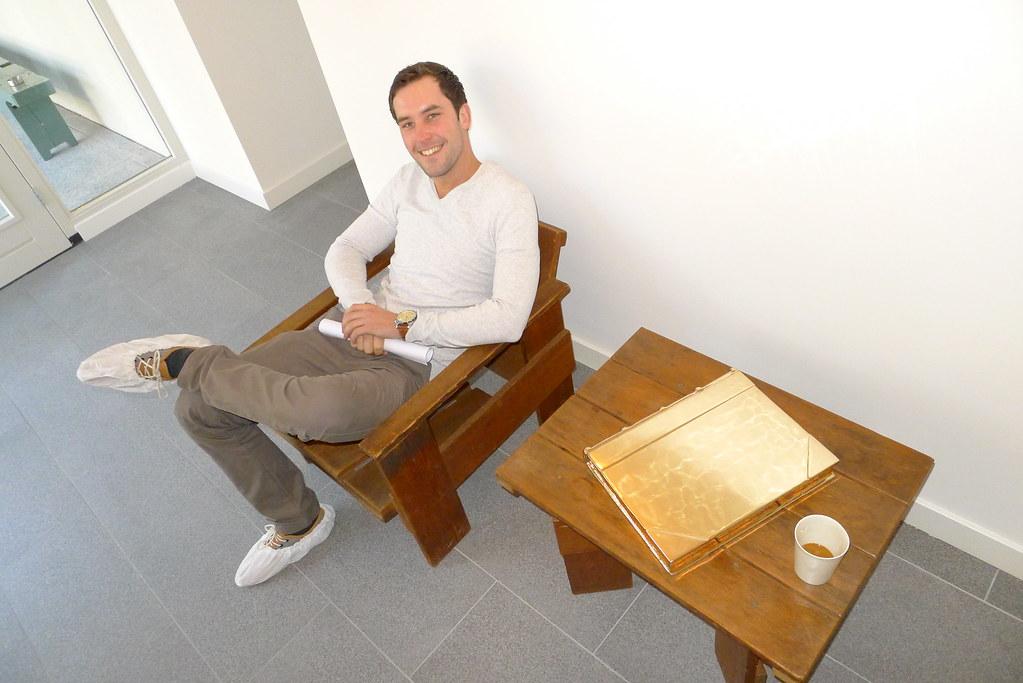 Gerrit Rietveld Kratstoel : Studio job s jobhouse etienne in kratstoel studio job s u flickr
