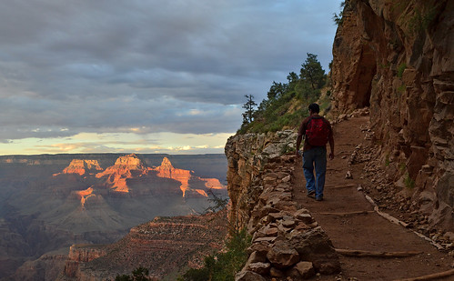 Grand Canyon National Park: Bright Angel Trail - Sunset 0162 | by Grand Canyon NPS