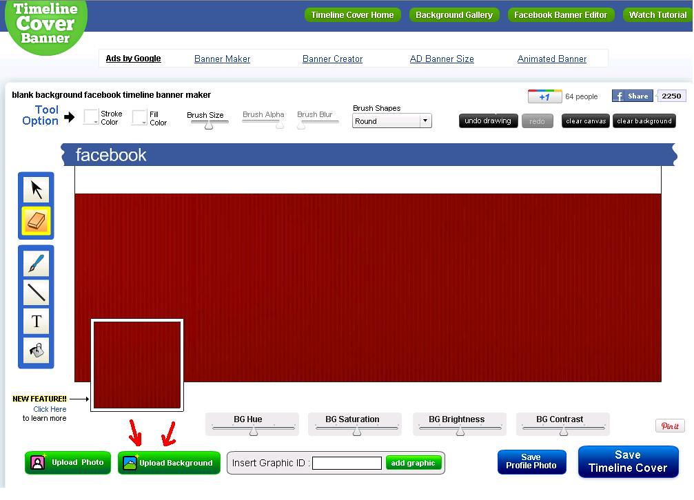 2 Create Facebook Cover Photo 2 Upload Background The Act Flickr