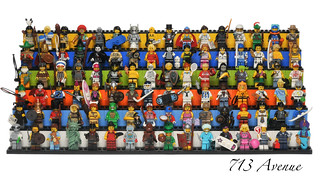 LEGO Collectible Minifigures Series 1 ~ 6 (96 Minifigures) | by 713 Avenue