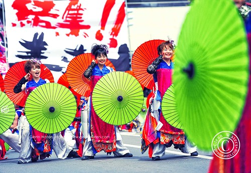 Yosakoi Dance Festival Japan (Hirosaki Japan). © Glenn Waters. | by Glenn Waters ぐれんin Japan.