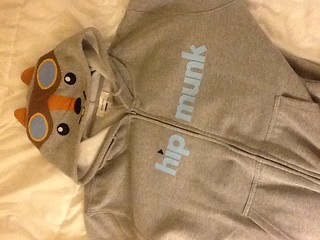 Limited edition Hipmunk hoodie. Hilarious. | by jenny8lee