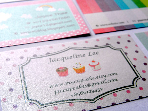 Kawaii business cards zibbetpurplecollection flickr kawaii business cards by evelyn ch colourmoves