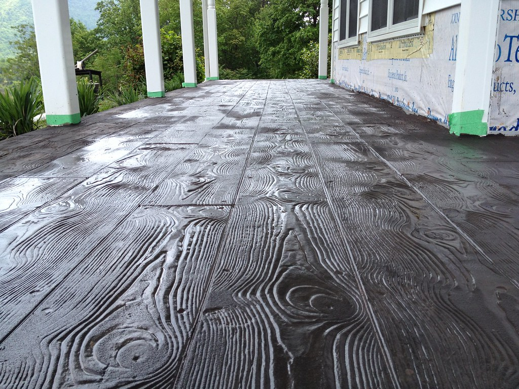 Stamped Concrete Wood Pattern Best Design