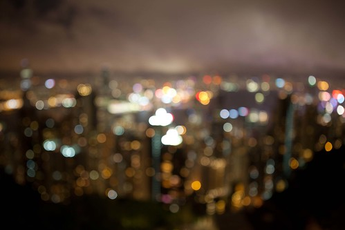 Victoria harbour bokeh | by Paul Cowell