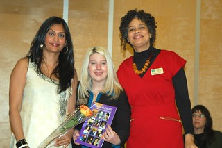 Paromita Naidu, Commissioners Melissa De Genova and Constance Barnes | by community engaged arts team