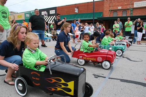 Pedal Car Race Goodwood