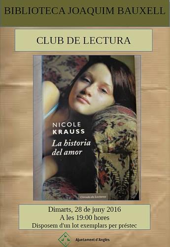 cartell historia d'Amor