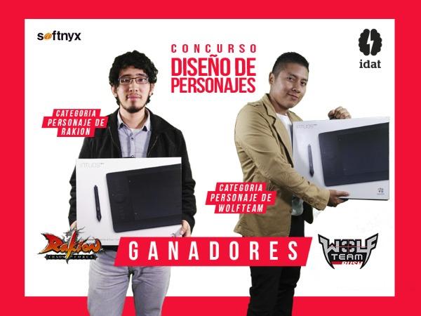 Softnyx anuncia y premia a los ganadores del Concurso Diseño de Personajes de Videojuegos