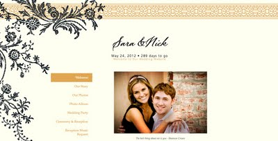 Vera Lace Wedding Website | Wedding Website Design Tips
