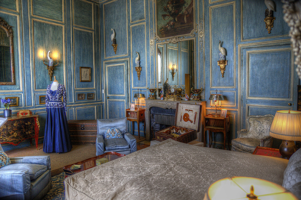 The Blue Room In Leeds Castle. | Leeds Castle, Leeds, Kent, … | Flickr