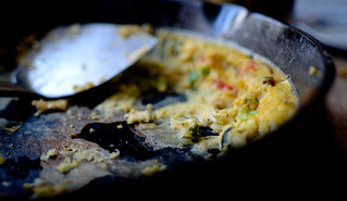 A Skillet Omlette in Quebec | by The Hungry Cyclist