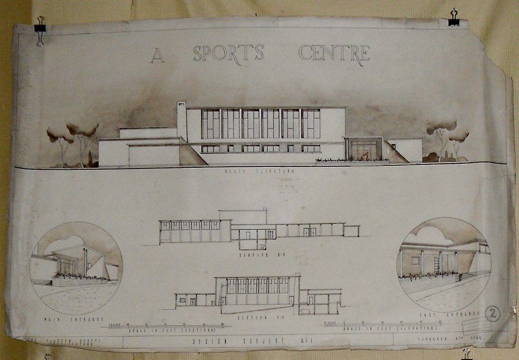 Art Deco Architectural Drawing 1ii