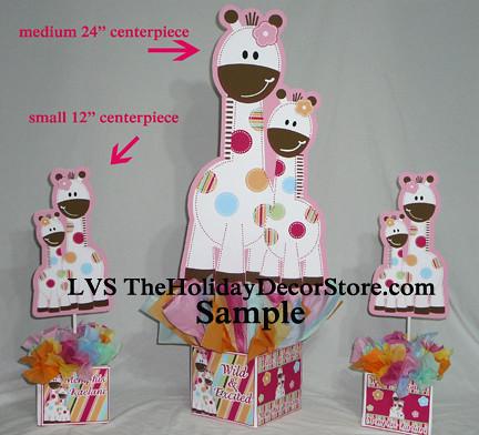 Giraffe Birthday Party Custom Baby Shower Personalized Cen Flickr
