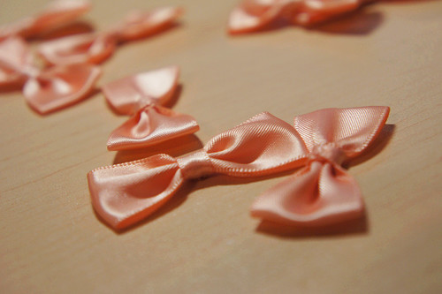 Pink Bow Ties | by vanessakwann