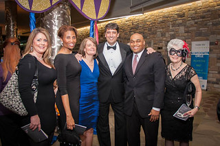 Kim Prium, Donna Richardson, Pam Guzzone, State Delegate Guy Guzzone, Luis Valdivieso, and County Council Chair Mary Kay Sigaty | by Howard County Library System