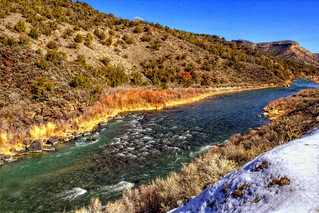 The Rio Grande between Taos and Santa Fe | by dave_hensley