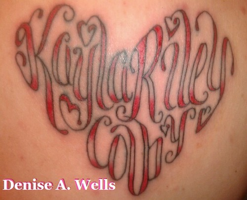 kayla riley colby tattoo design by denise a wells flickr. Black Bedroom Furniture Sets. Home Design Ideas