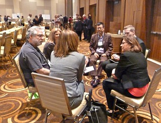 One of the sit-down groups, Open Space, Trusted Advisors, ACMP 2012 | by Tatiana12