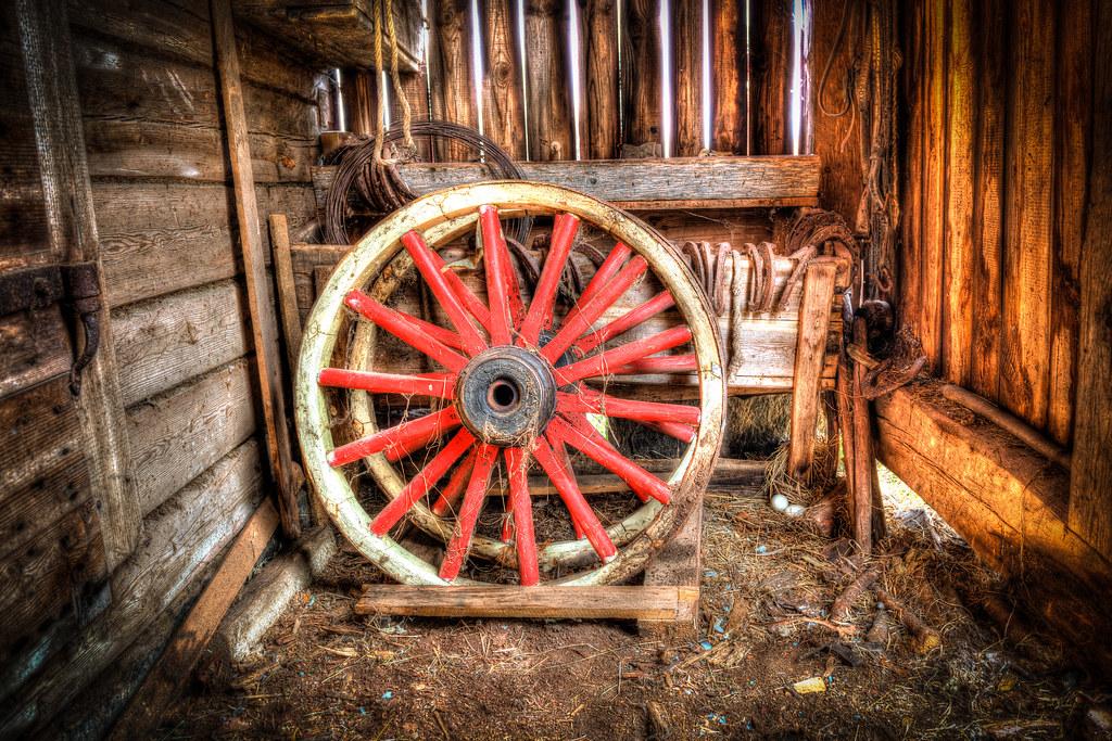 Old wheel old wheel in a barn joakim holmberg flickr holmberg old wheel by joakimholmberg publicscrutiny Choice Image