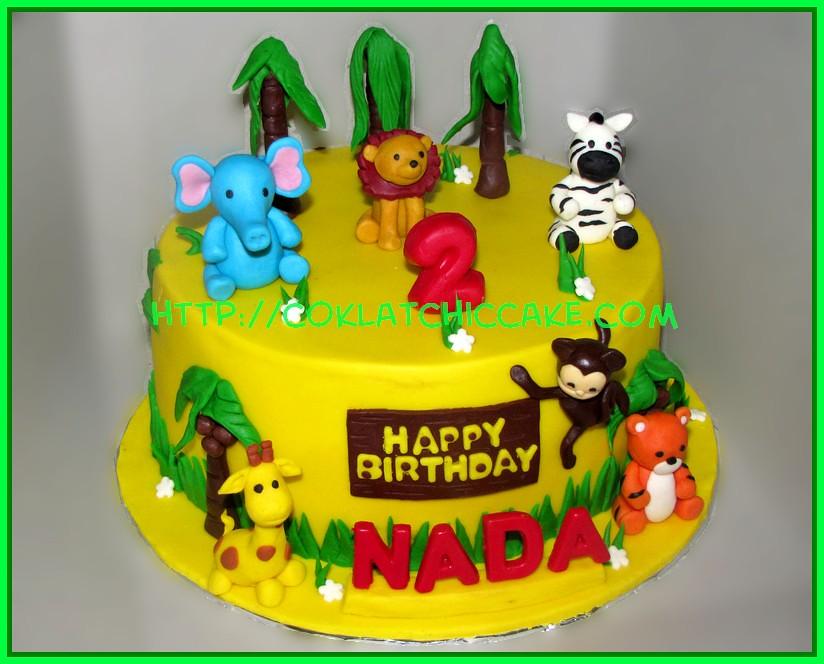 Cake Jungle Animal