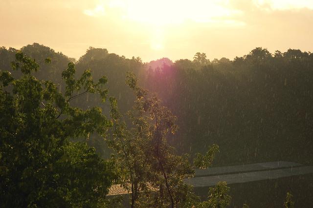 matin pluie
