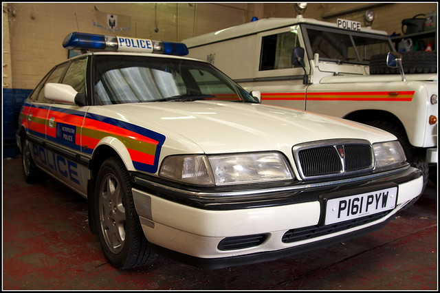 Rover amp MG  Police Vehicles  Flickr