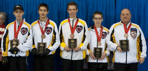 Napanee, ON Feb 11 2011 M&M Canadian Juniors Team Manitoba Bronze Medal. Michael Burns Photo Ltd. | by seasonofchampions