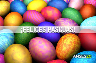 ¡Felices PASCUAS! | by ANSESGOB