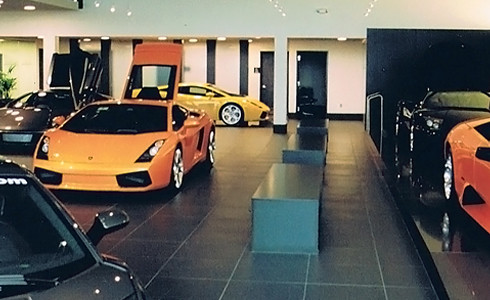 Lamborghini of troy