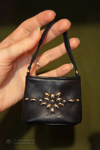 Handmade leather bag for BJD | by Dark0na