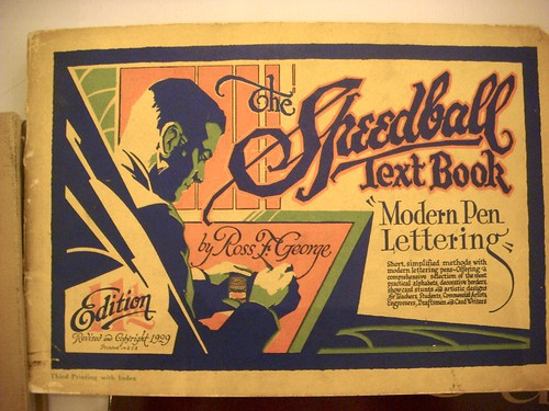 The Speedball Text Book by Ross F George [1929] | by Nick Sherman