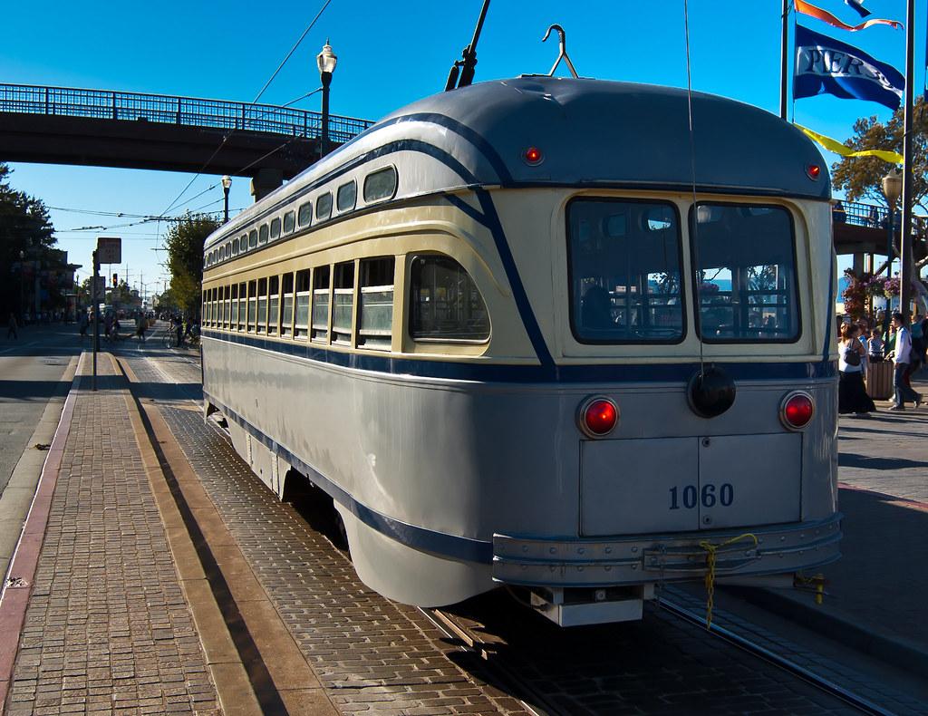 USA / California / San-Francisco / Grey Tram 02