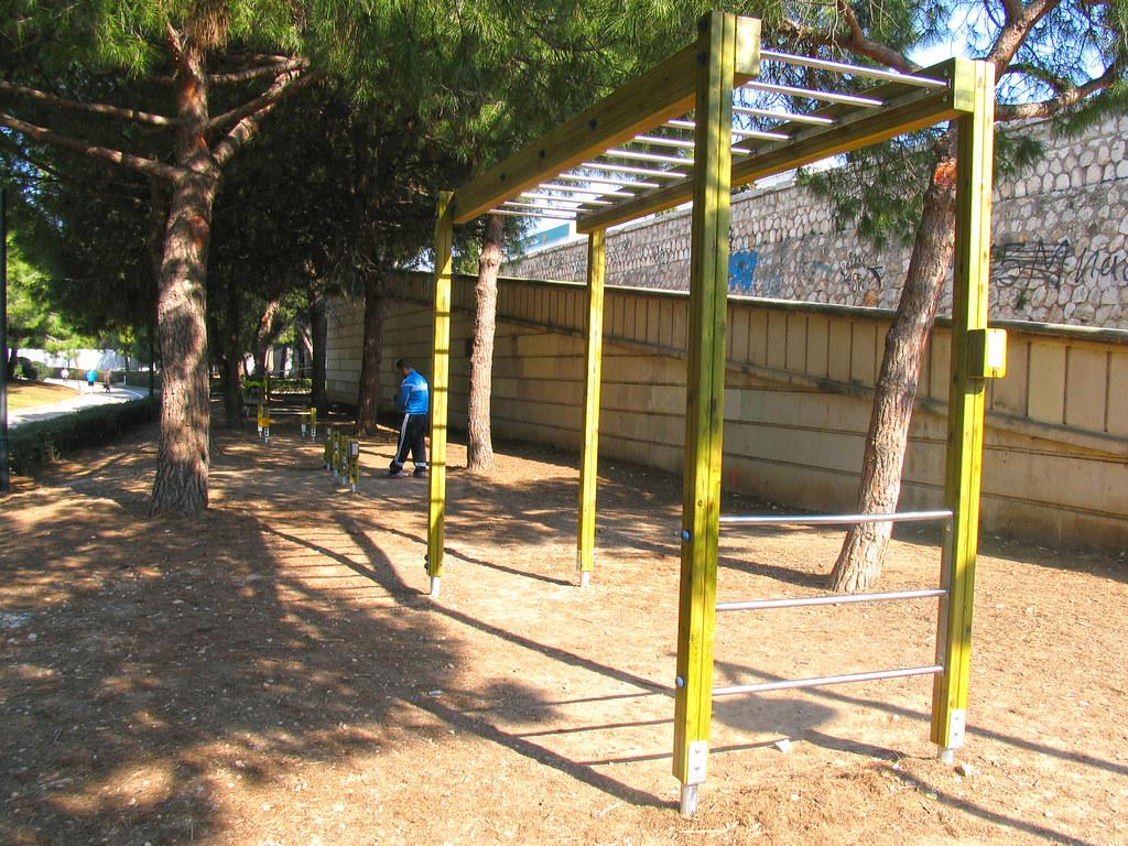 Circuito Urbano Valencia : Instalación de circuito de footing en el antiguo cauce delu flickr