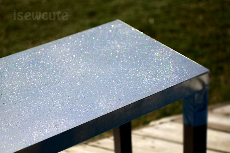 isewcute bei refinished countertop with sewing how photos oh glitter my and c paint flickr being sparkly table