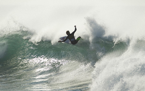 A Wingman trialist banks it off the top. | by Rip Curl