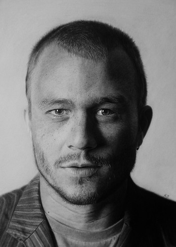 Heath Ledger | by Kelvin Okafor