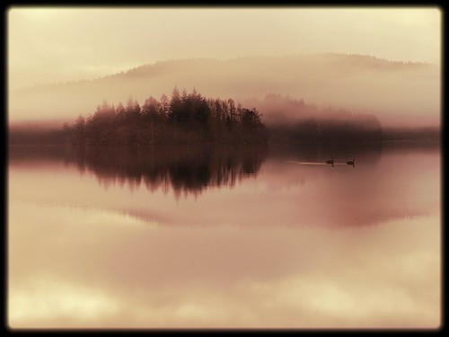 A vision of Loch Ard, felt rather than seen. (explore) | by kenny barker