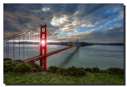 Golden Gate Sunrise 2 | by Michael Lawenko dela Paz