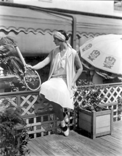 Woman models tennis fashions at Burdine's: Miami, Florida | by State Library and Archives of Florida