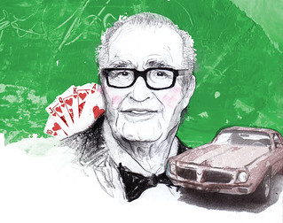 James Garner for Car & Driver | by Zé Otavio