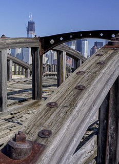 View Of The World Trade Center From NJ Docks | by Bob Jagendorf
