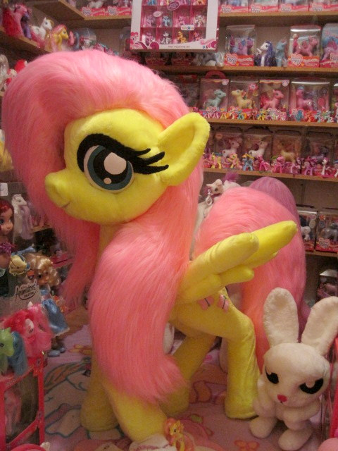My Little Pony Collection Giant Fluttershy Plush In Her Ne Flickr