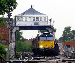 57601 Arriving into Selby, crossing the Ouse over the Iconic Selby Swing Bridge. | by Michael 43123