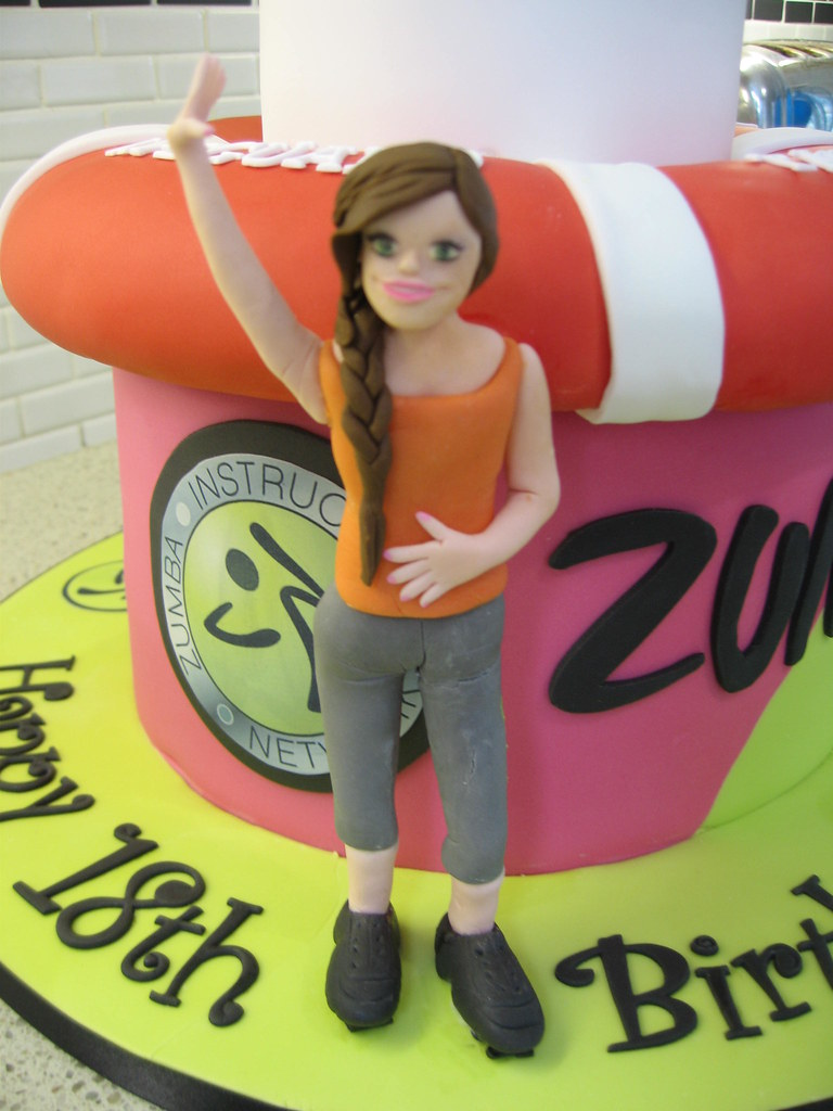 Zumba Birthday Cake Staceys Cakes Flickr