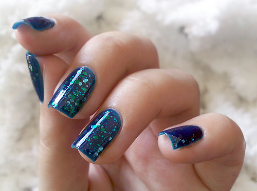 across the universe . b-day nails | by gimimimi