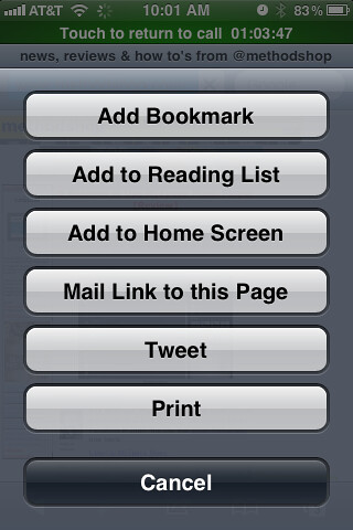 how to delete bookmarks on ipod