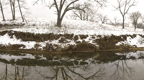 Snow and Creek | by Avaviel