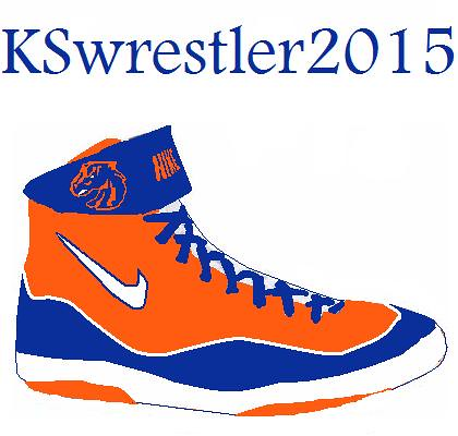 Custom Boise State Nike Inflict wrestling shoes! if anyone… | Flickr