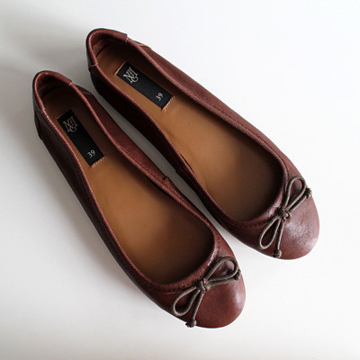 mango brown ballerina flats 3 flickr. Black Bedroom Furniture Sets. Home Design Ideas